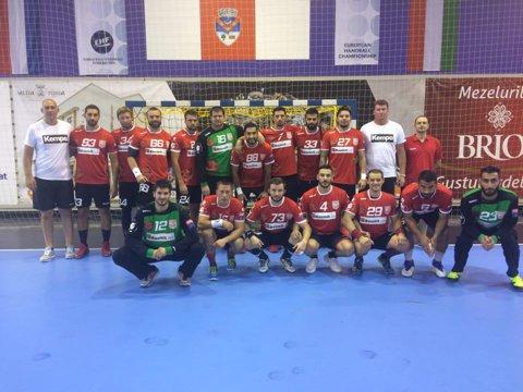 Dinamo Bucureşti a pierdut şi al doilea joc în turneul amical din Belarus, 23-29 cu HC Meshkov Brest