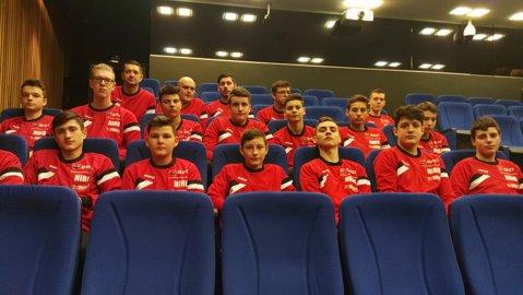 """Alexandru Dedu: """"Sunt foarte mulţumit că handbalul are primul Centru Olimpic Naţional de Juniori din sporturile de echipă"""". Cine a promis o sală de minimum 3.000 de locuri în Bucureşti până în 2020"""