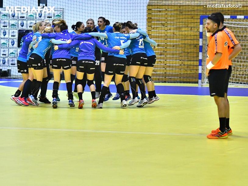 SCM Craiova este nr. 2 în România după ce a câştigat derby-ul Olteniei cu HCM Rm. Vâlcea