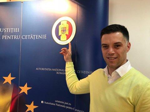 Pedrag Vujadinovic a devenit cetăţean român! Ce a spus extrema stângă de la Constanţa despre posibilitatea de a juca la echipa naţională