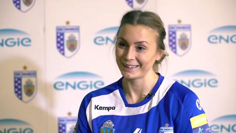 """Isabelle Gullden: """"Azi nu am jucat bine, nu a fost ziua noastră. La pauză am spus că trebuie să câştigăm meciul, dar era clar că nu era ziua noastră şi a trebuit să ne luptăm mult"""""""