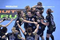 CSM Bucureşti a câştigat al patrulea titlu consecutiv în Liga Naţională de handbal feminin! Trofeul, adjudecat matematic după înfrângerea Craiovei la Roman