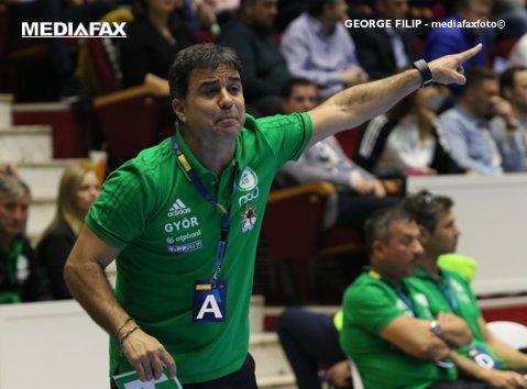 """""""Fantastic! Am avut un adversar foarte dificil"""". Reacţia lui Martin Ambros după ce a învins-o pe CSM Bucureşti. Ce a spus despre Neagu"""