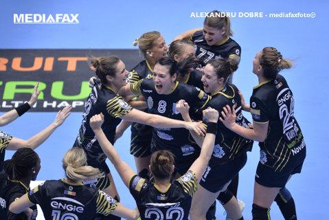 """Prima reacţie a """"Tigroaicelor"""" după ce au câştigat medaliile de bronz în Liga Campionilor: """"Ne-am dorit să demonstrăm că suntem o echipă!"""""""