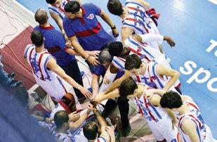Steaua, lider în campionatul de baschet masculin
