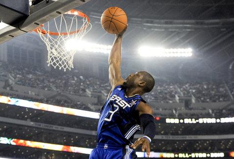 Selecţionata Vestului a învins, scor 192-182, reprezentativa Estului, în All Star Game-ul NBA