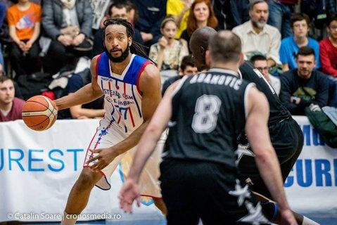 """Aşa primeşte capitala prima finală a Ligii Naţionale de baschet masculin, după 12 ani: Fanzone în faţa sălii """"Mihai Viteazul"""", înainte de meciul trei al seriei cu U-BT Cluj"""