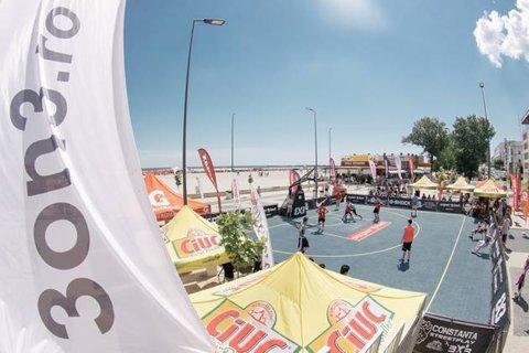 Slam-dunk pe nisip! Baschetul 3x3 ajunge pe litoral, la Superbet Constanţa Streetplay
