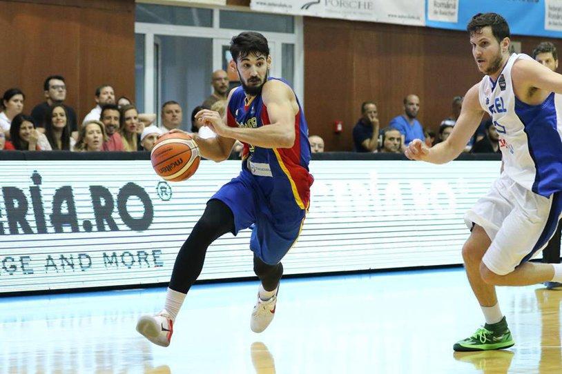 Încă un test picat! România a pierdut al cincilea meci consecutiv în campania de pregătire pentru EuroBasket 2017, scor 57-91 cu Ucraina