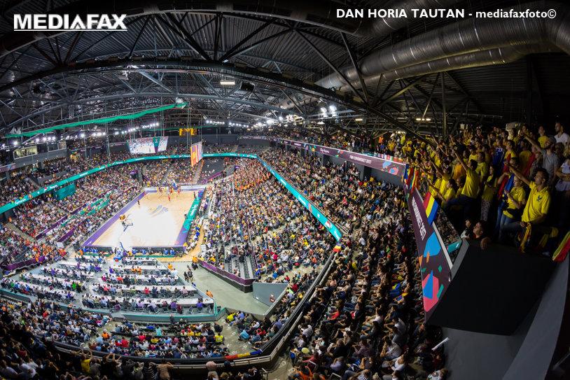 A căzut recordul de asistenţă la un sport de echipă indoor desfăşurat în ţară! Partida România – Ungaria la EuroBasket a stabilit un nou reper