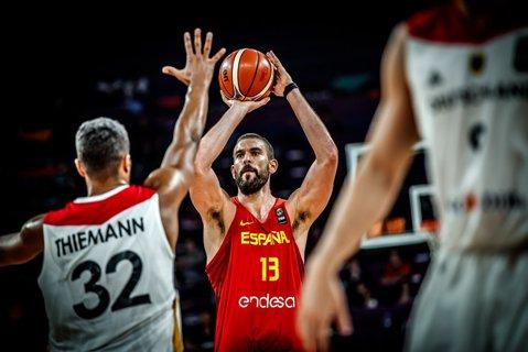 Spania – Slovenia, prima semifinală la Eurobasket. A doua semifinală va fi stabilită miercuri după partidele Grecia – Rusia şi Italia – Serbia