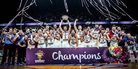 S-a scris istorie la Eurobasket: Slovenia e noua campioană europeană! Goran Dragic, MVP-ul turneului, după o finală în care a fost de neoprit