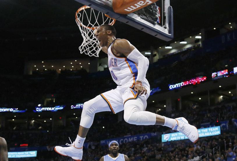 Suma FABULOASĂ oferită de Oklahoma City Thunder lui Russell Westbrook pentru a semna un nou contract pe 5 ani. Ultimul MVP din NBA va evolua cel puţin până la 34 de ani la actuala sa echipă