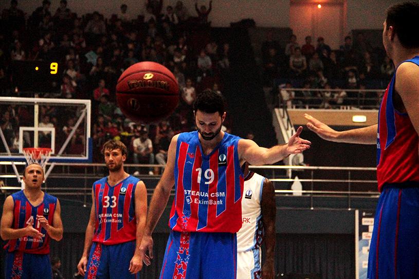 CSM Steaua Bucureşti a fost învinsă în turul II al FIBA Europe Cup