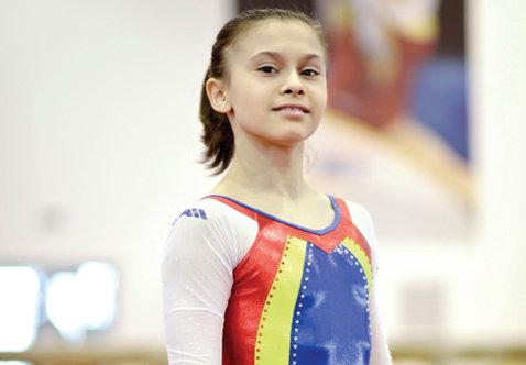 Diana Bulimar s-a accidentat la genunchi şi nu va participa la Campionatele Mondiale de gimnastică din China