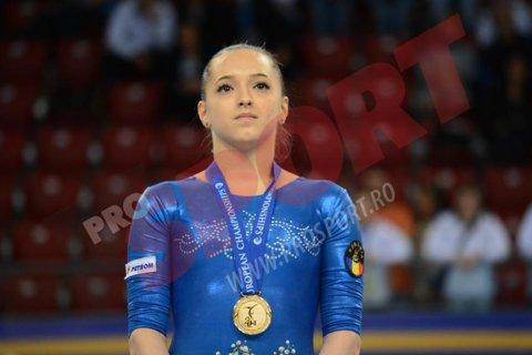 Larisa Iordache, trei titluri naţionale în finalele pe aparate, la CN de gimnastică