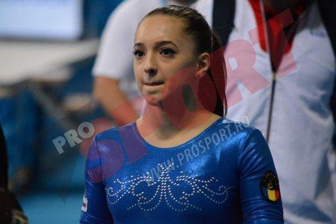Podium interzis. Echipa feminină de gimnastică a României, al treilea loc patru consecutiv la Mondiale. Larisa Iordache şi Andreea Munteanu au mers perfect la bârnă, Stănilă a ratat