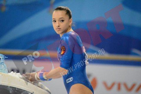 Medalie de aur pentru Larisa Iordache la Cupa Mondială de la Glasgow la gimnastică