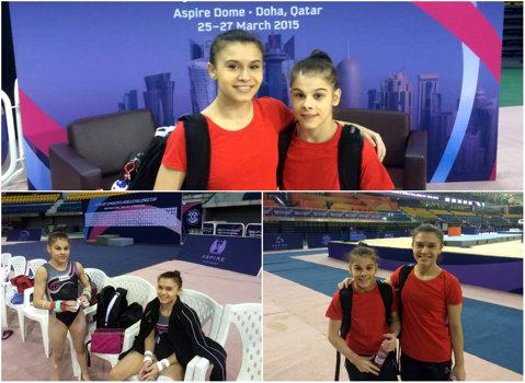 Bulimar si Jurcă s-au calificat în finală la paralele, la Doha. Este prima competiţie pentru Diana, după 9 luni