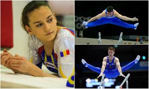 Primele medalii pentru România la Europenele de gimnastică. AUR pentru Andreea Munteanu la bârnă şi ARGINT pentru Berbecar la paralele
