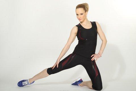 Sandra Izbaşa se antrenează cinci ore pe zi. Când şi-a propus să revină în competiţie dubla campioană olimpică