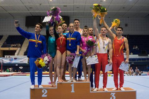 Concluzii după Naţionalele de gimnastică. Larisa Iordache, în formă, se bate pentru podiumul mondial. La masculin, Drăgulescu a ridicat media echipei, dar ne-ar mai trebui un gimnast pentru a fi siguri de calificarea la Jocurile Olimpice