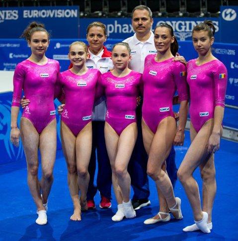 Europenele de gimnastică. Echipa de senioare s-a calificat de pe locul 4 în finala competiţiei de la Berna. Cătălina Ponor – în finalele de la sol şi bârnă