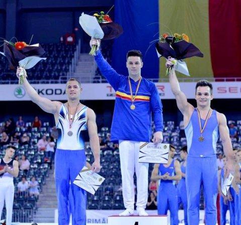Andrei Muntean, aur la individual compus la Naţionalele de gimnastică