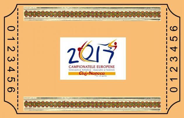 S-au pus în vânzare abonamentele şi biletele pentru Campionatul European de Gimnastică de la Cluj