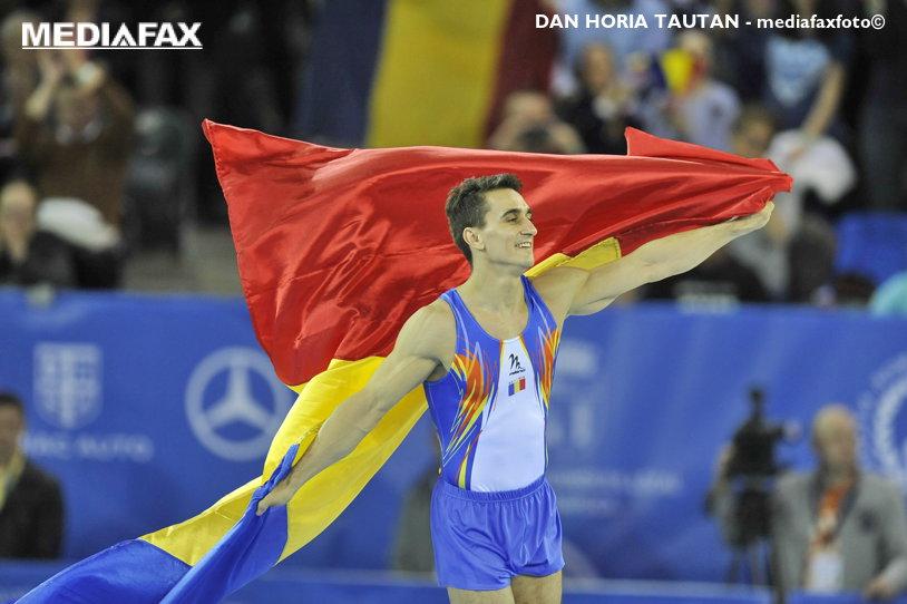 """Visul lui Drăgulescu s-a împlinit: """"Am avut o dorinţă, să se cânte imnul la acest Campionat European. A fost dorinţa mea cea mai mare, mă bucur că s-a întâmplat"""". Primele reacţii ale campionului după aurul obţinut la sol"""