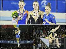 Punct final în cea mai importantă competiţie sportivă organizată de România în ultimii ani. Set complet de medalii în ultima zi: Ponor a devenit pentru a cincea oară regina bârnei. Drăgulescu sare cu argintul, Iordache are bronz
