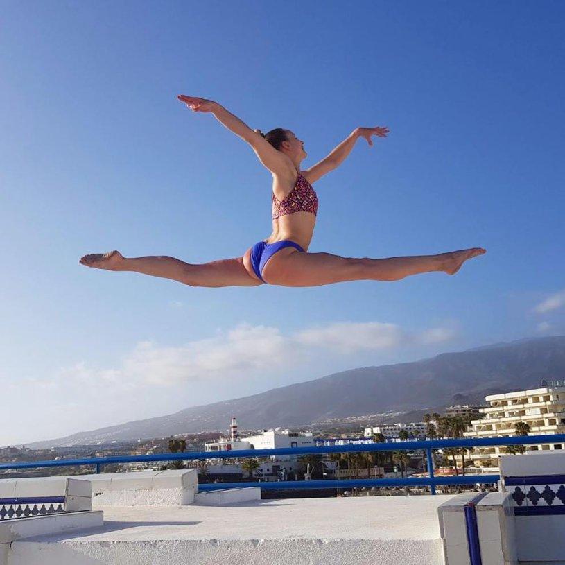 IMAGINEA ZILEI | E dublă campioană olimpică, a făcut istorie pentru Steaua şi chiar... poate zbura