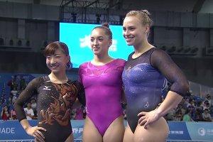 AUR la Taipei! Larisa Iordache, campioană mondială universitară la individual compus cu un total de 56.750