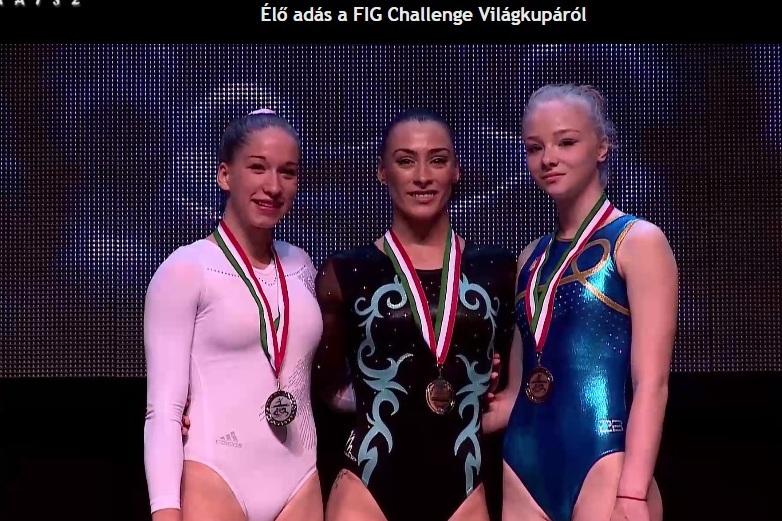 Cătălina Ponor şi Marian Drăgulescu, medalii de aur şi de argint la Cupa Mondială de la Szombathely