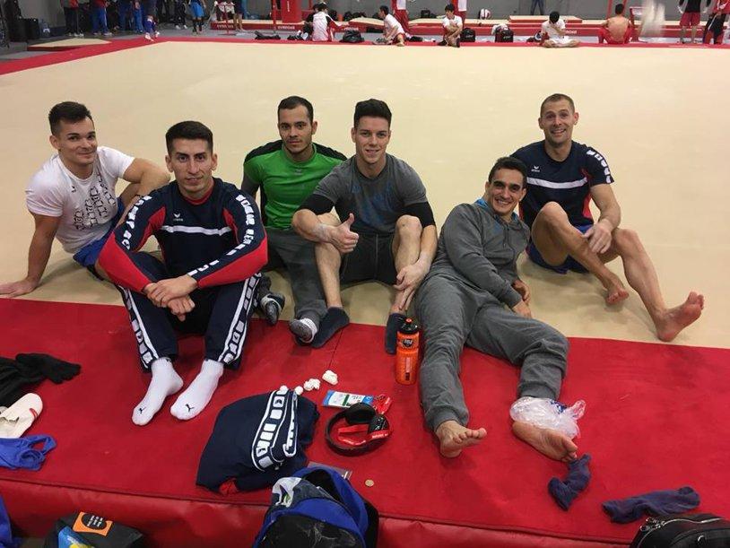 Mondialele de Gimnastică 2017 | Marian Drăgulescu a renunţat la sol din cauza unor probleme la gleznă. Băieţii intră la noapte în scenă, în subdiviziunea a treia a calificărilor
