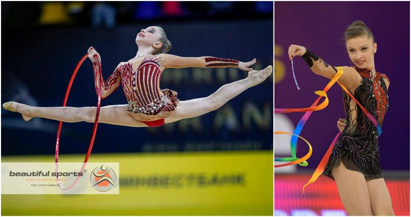 """Gimnastele Andreea Verdeş şi Laura Aniţei, reprezentantele României la Campionatul European de la Guadalajara, din Spania. """"La acest nivel contează cel mai mic detaliu"""""""