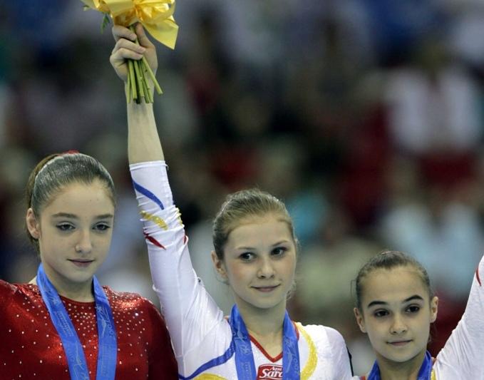 Visul ROMÂNESC! Vezi cum s-a apucat de gimnastică Amelia, campioana europeană