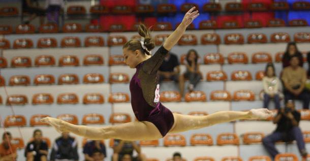 Echipa feminină de gimnastică a României a învins Marea Britanie