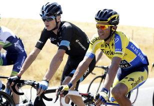 Glonţ direct în Froome. Contador, noul lider în Turul Spaniei. Marele său rival a pierdut aproape un minut la contratimp. Motivele pentru care Froome a făcut o etapă dezastruoasă