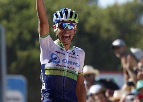 Bang, bang, Chaves a dat din nou lovitura! Columbianul de la Orica-GreenEdge a câştigat a doua etapă din Vuelta şi a preluat din nou tricoul roşu