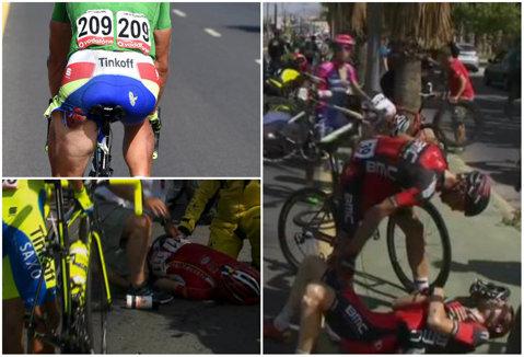 Carnagiu în Vuelta: Boeckmans a fost incoştient timp de câteva minute, Dan Martin şi Tejay van Garderen au abandonat. Etapă câştigată de surprinzătorul Stuyven