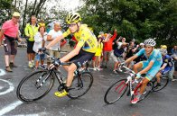 Chris Froome ajunge cu tricoul galben la Paris şi se pregăteşte să câştige Turul Franţei pentru a treia oară în carieră