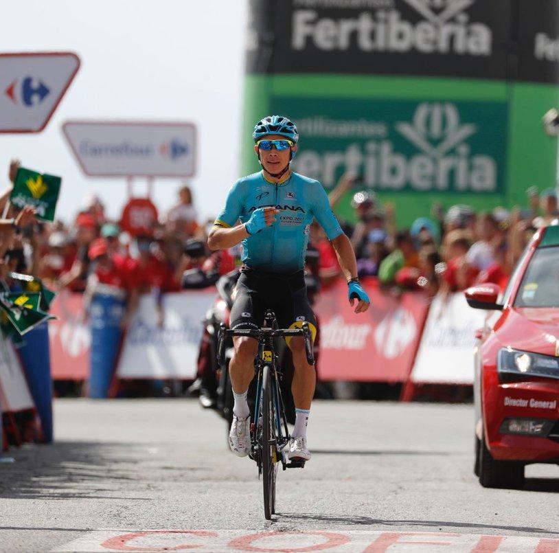 Ciclistul Miguel Angel Lopez a triumfat în etapa cu numărul 15 din Turul Spaniei