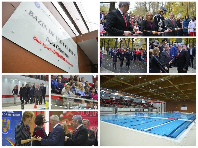 Bazinul Tolea Grinţescu, în valoare de 10 milioane de euro, a fost inaugurat