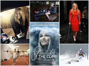 """""""The Climb"""" sau cealaltă faţă a lui Lindsey Vonn. Un documentar senzaţional despre accidentările, suferinţa şi depresiile unui sportiv de performanţă"""