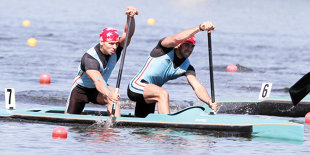 """Barca de canoe dublu, fără medalie la Europene. """"Am mai trecut prin aceste momente şi asta ne-a întărit. Obiectivul nostru este calificarea directă la Rio"""""""