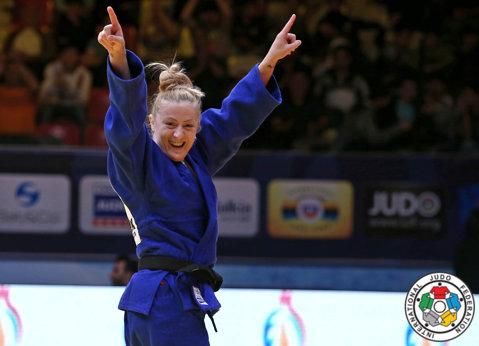 Corina Căprioriu, bronz la Mastersul de judo de la Rabat, cel mai important turneu din prima jumătate a anului 2015