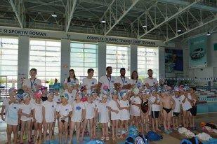 TIMP LIBER | În Complexul Olimpic de la Izvorani au concurat viitoarele stele ale înotului. Aqua Sport a luat caimacul în clasamentul final