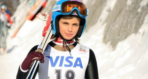 Dana Haralambie, cea mai bună performanţă românească în Cupa Mondială de sărituri cu schiurile!
