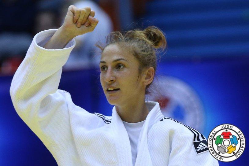 Monica Ungureanu, medalie de aur la Grand Prixul de judo de la Tbilisi